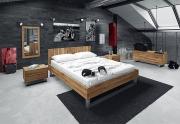 Medinė lova STEEL