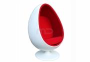 Apvali Minkšta kėdė Egg kiausinis