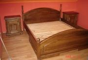 Medinė lova Cezary