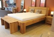 Ąžuolinė lova MAS