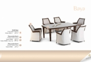 Lauko baldų komplektas Baya