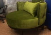 Apvalus fotelis