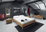 Medinė lova FRAME STEEL