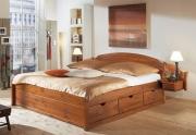 Miegamojo dvigulė lova Sofia